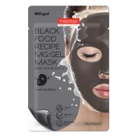 Гидрогелевая маска Purederm Black Food Recipe MG:gel Mask