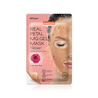 Гидрогелевая маска для лица Purederm Real Petal MG:Gel Mask Rose
