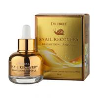 Cыворотка для лица Deoproce Snail Recovery Brightening Ampoule