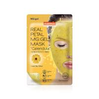 Гидрогелевая маска для лица Purederm Real Petal MG:Gel Mask Calendula